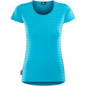 Mountain Equipment Groundup Shortsleeve Shirt Women blue